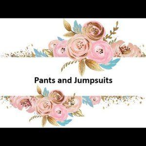 Pants, Leggings and Jumpsuits